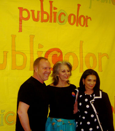 Fashion Designer Michael Kors, Publicolor Founder Ruth Shuman and 2009 Publicolor Honoree Mary Boone