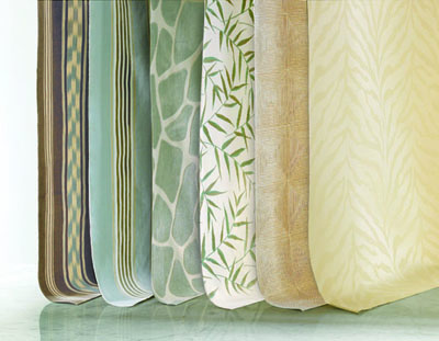 """Town & Country,"" one of four new designs from Barclay Butera's fabric series for Kravet Collections"
