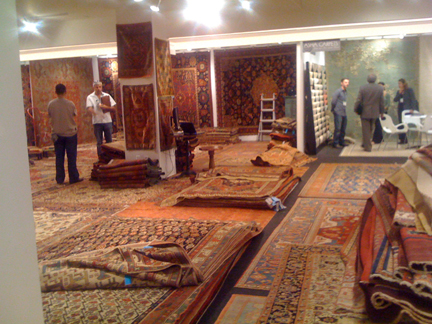 Layers Of Intricate Rugs At Yayla