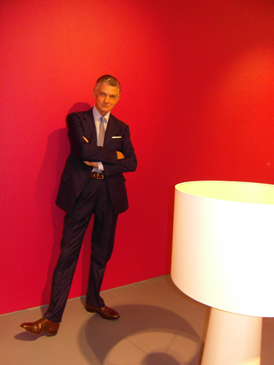 Giulio Cappellini in his new Miami showroom.