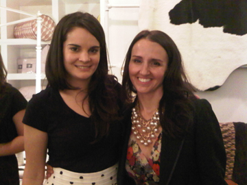 Michelle Adams and Melissa of Ruby PR