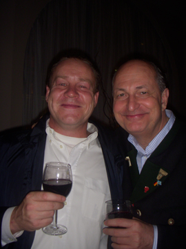 Thierry Herbert of Royal Botania and Dieter Kemp of DPK Consulting Inc