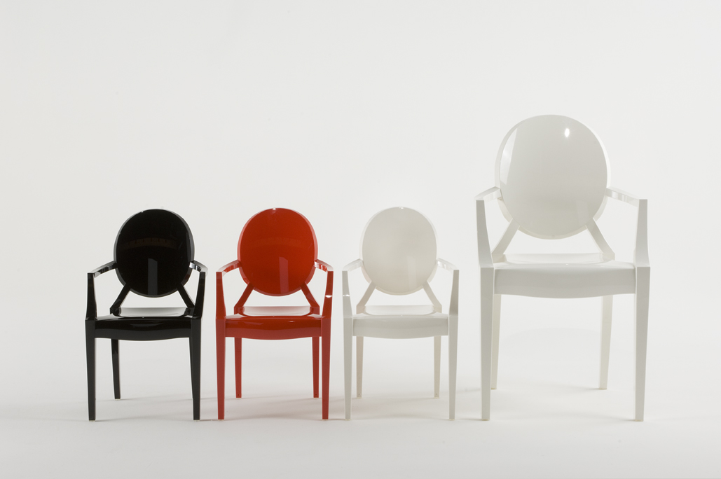 Louis Ghost Chairs by Philippe Starck for Kartell