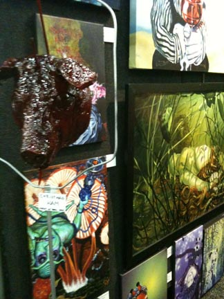Environmental Surrealism from RW2 Gallery. Booth: H31