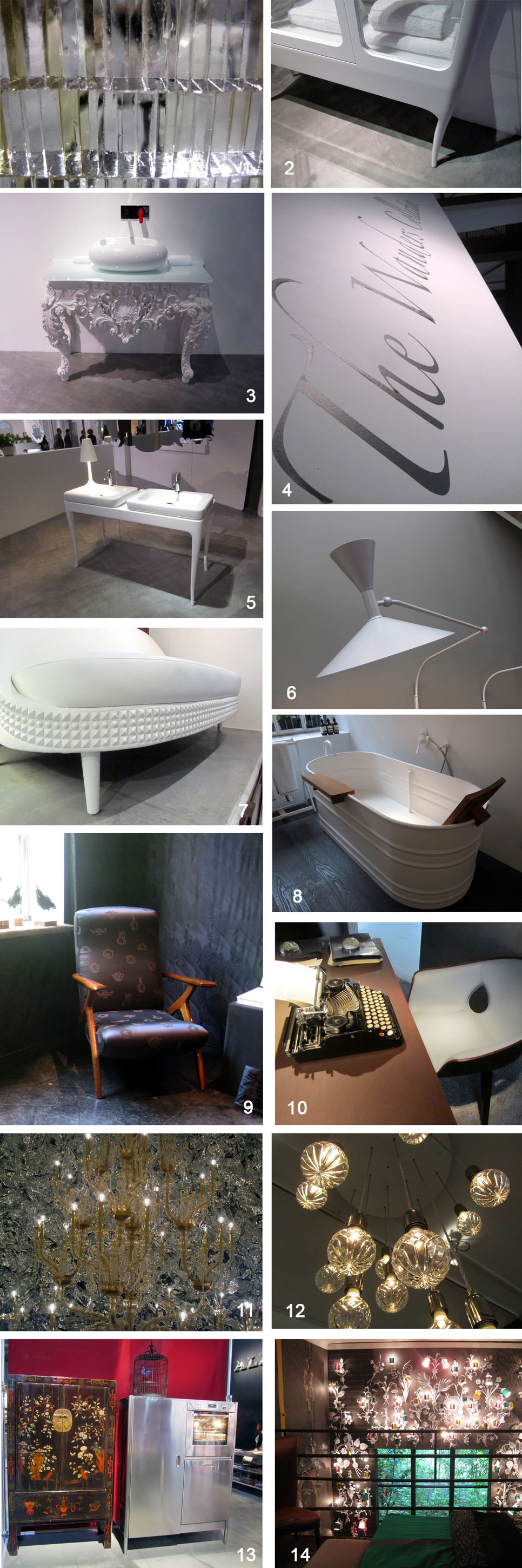 Moods from Salone del Mobile 2012