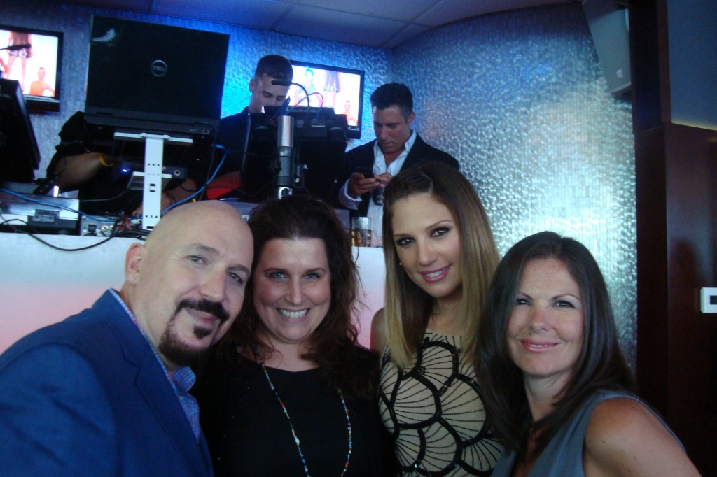 HudsonMOD EIC Richard Perez-Feria & Cover Model Daisy Fuentes shared this special moment with their life-long friends.