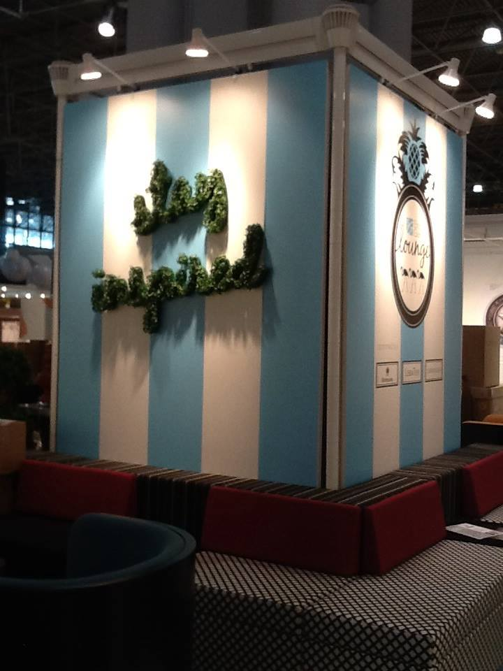Stacy Garcia Lounge (booth #629). Photo courtesy of Boutique Design New York.