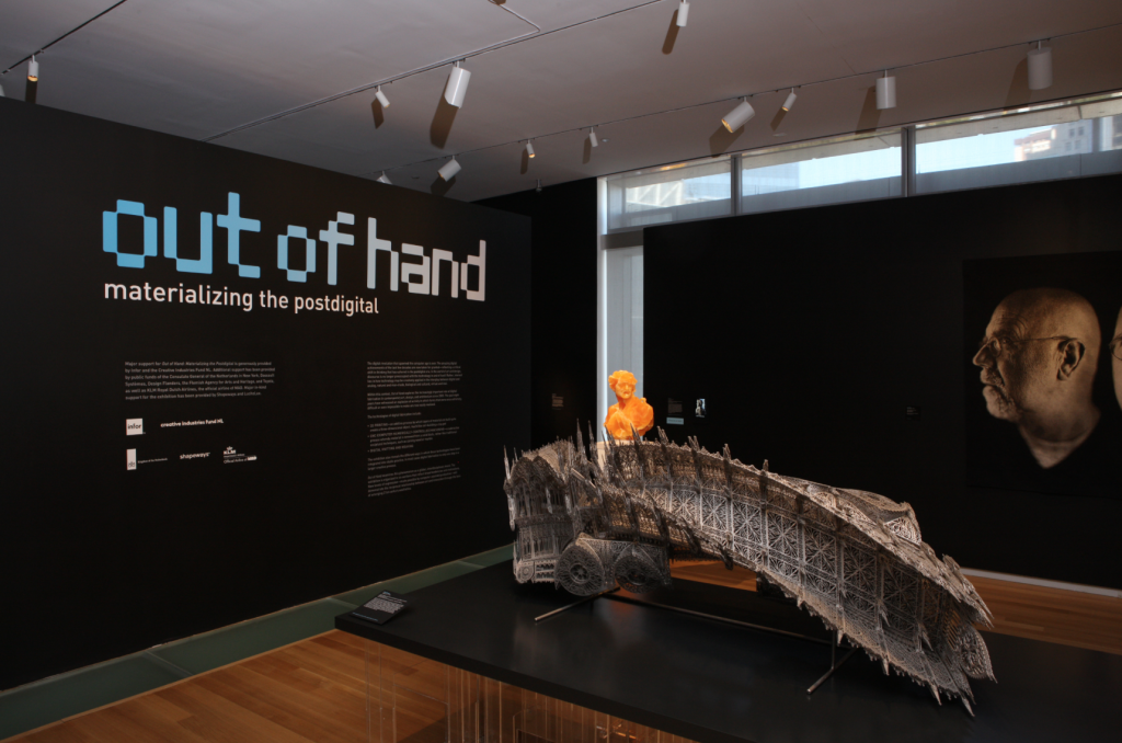 'Out of Hand' 3rd floor installation view (photo by Ed Watkins)