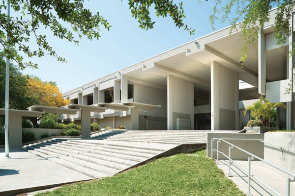 Sarasota High School, Sarasota Fl, 1958.  Paul Rudolph, architect.