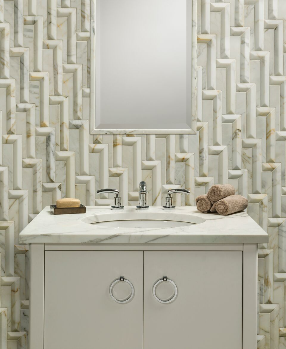 REFRESH will feature innovations in kitchen and bath products, like these gorgeous tiles from Artistic Tile