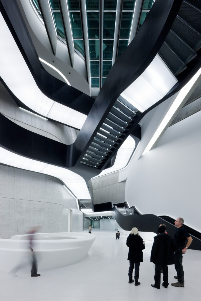 MAXXI Museum of XXI Century Art, Rome - photo by Iwan Baan