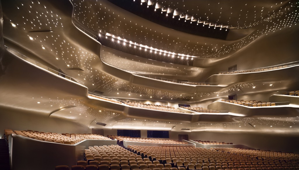 Guangzhou Opera House, Guangzhou - photo by Virgile Simon Bertrand