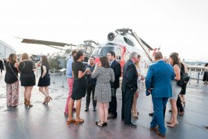 Photo from last year's Evening at the Intrepid by Peter Ou.