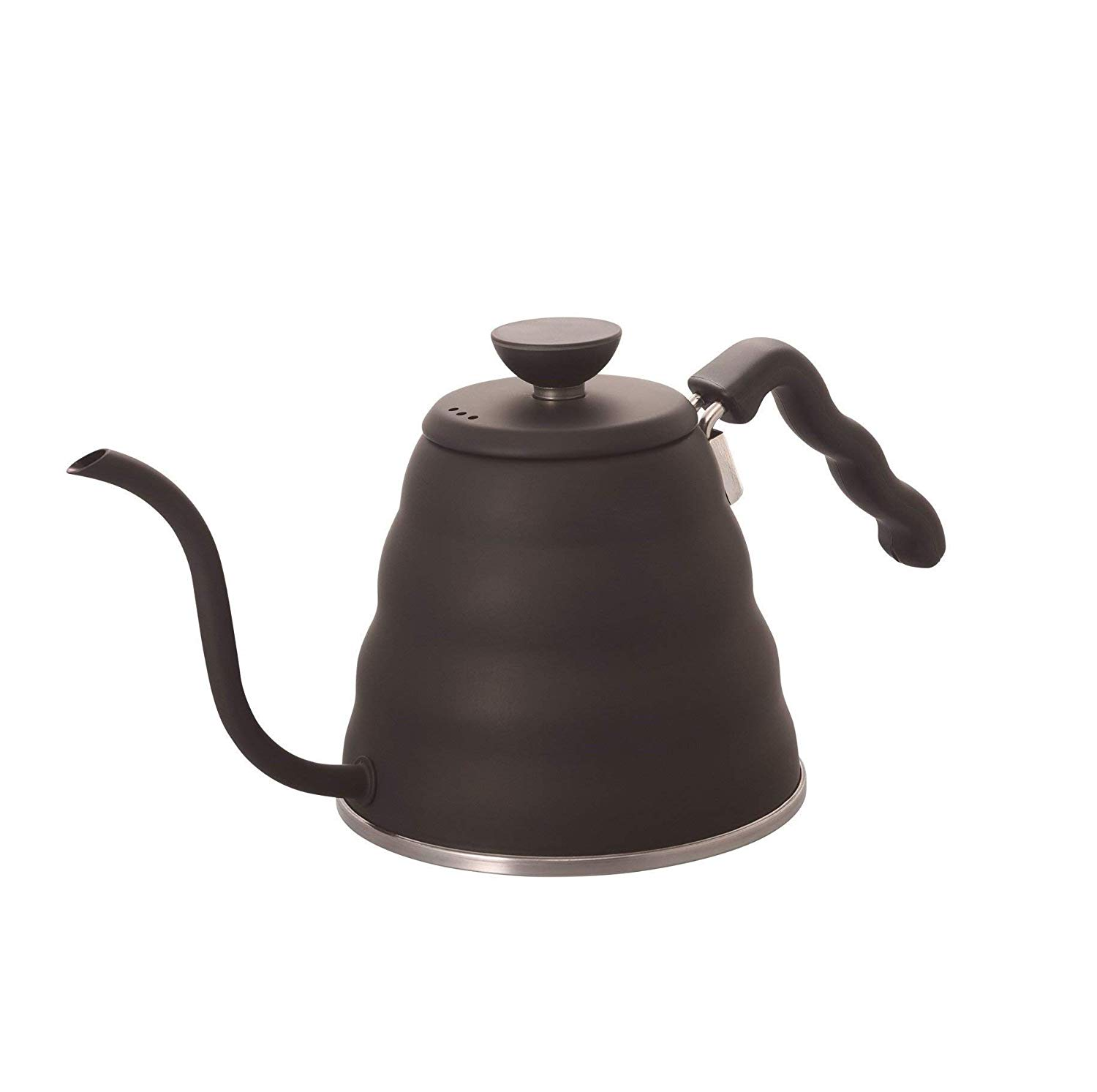 Hario V60 Buono Stainless Steel Gooseneck Coffee Kettle. Courtesy of Amazon.