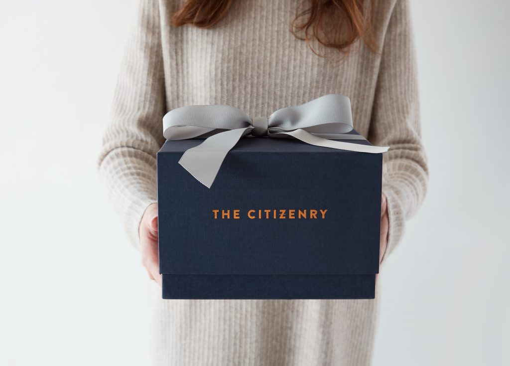 The Citizenry Bunkhouse offers free gift wrapping on all purchases.