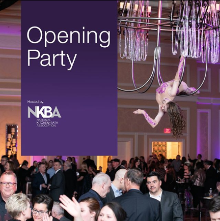 Kick-off party in Las Vegas on January 20th. Posted on KBIS Instagram. @kbis_official