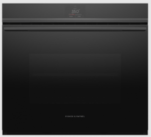 "Fisher & Paykel's 30"" Wall Oven: Minimal Style with Black Finish"