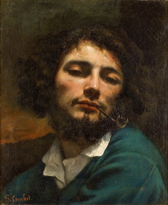 Gustave Courbet, 'Man with a Pipe', 1846.