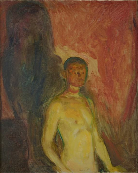 Edvard Munch, 'Self-Portrait in Hell,' 1903.