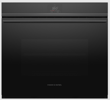 """Fisher & Paykel's 30"""" Wall Oven: Minimal Style with Black Finish"""