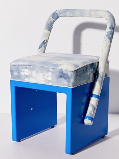 Bleached Denim Chair - September 2019 Issue